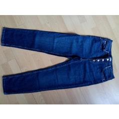 Jeans large, boyfriend Camaieu  pas cher
