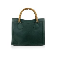 Lederhandtasche Gucci
