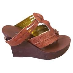 Sandales compensées Jean Paul Gaultier  pas cher