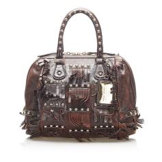 Lederhandtasche Dolce & Gabbana