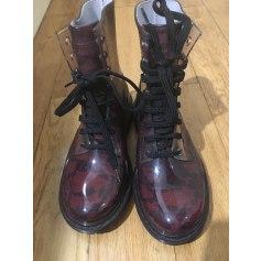 Bottines & low boots plates Guess  pas cher