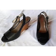Sandales compensées Yucan  pas cher