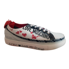 Sports Sneakers Love Moschino