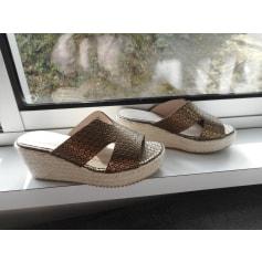 Sandales compensées JBC  pas cher