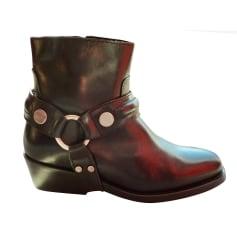 Bottines & low boots à talons Claudie Pierlot  pas cher