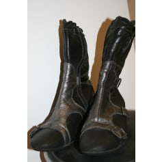 Bottines & low boots plates Pataugas  pas cher