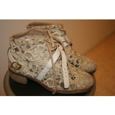 Bottines & low boots plates Heyraud  pas cher