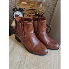 Bottines & low boots à talons Suredelle  pas cher