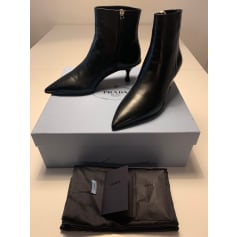 Bottines & low boots à talons Prada  pas cher