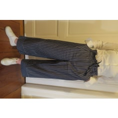 Pantalon évasé Massimo Dutti  pas cher