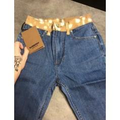 Jeans slim Burberry  pas cher