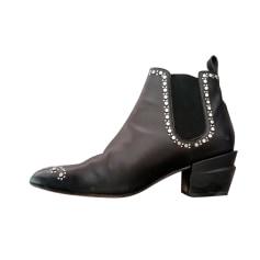 Santiags, bottines, low boots cowboy Robert Clergerie  pas cher