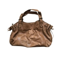 Leather Handbag Gerard Darel