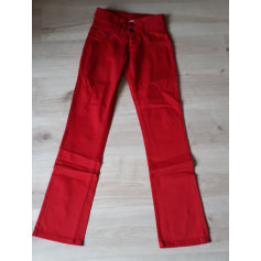 Pantalon slim, cigarette Roxy  pas cher