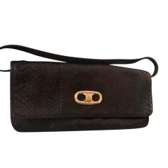 Leather Clutch Céline