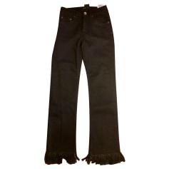 Jeans dritto Maje