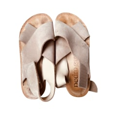 Sandales plates  Pedro Garcia  pas cher