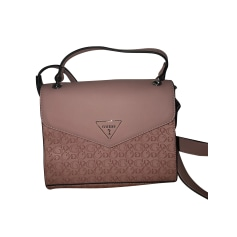 Leather Shoulder Bag Guess