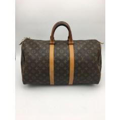 Sac XL en tissu Louis Vuitton Keepall pas cher
