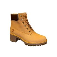 Bottines & low boots à compensés Timberland  pas cher
