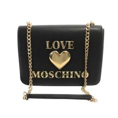 Sac en bandoulière en cuir Love Moschino  pas cher