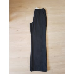 Pantalon droit Caroll  pas cher