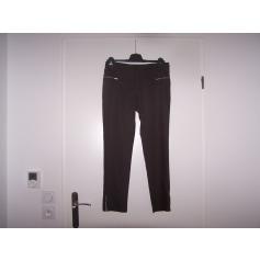 Pantalon slim, cigarette Formul  pas cher