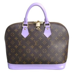 Lederhandtasche Louis Vuitton Alma