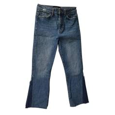 Jeans évasé, boot-cut The Kooples  pas cher