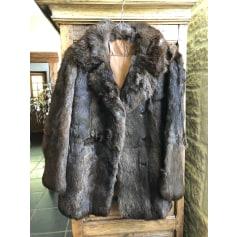 Manteau en fourrure Potier  pas cher