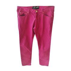 Pantalon slim, cigarette Love Moschino  pas cher
