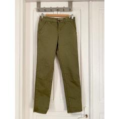 Pantalon droit # Red  pas cher