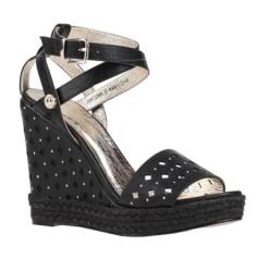 Sandales compensées Versace  pas cher