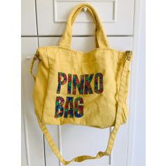 Sac en bandoulière en tissu Pinko  pas cher