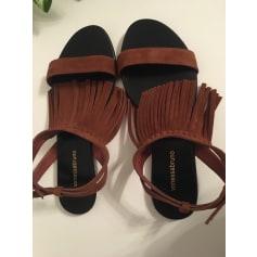 Sandales plates  Vanessa Bruno  pas cher