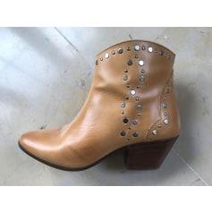 Santiags, bottines, low boots cowboy Isabel Marant  pas cher