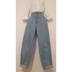 Jeans large, boyfriend Vintage  pas cher