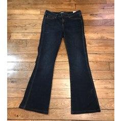 Jeans évasé, boot-cut Sud Express  pas cher