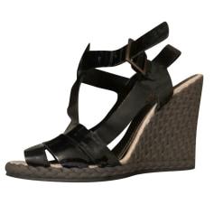Sandales compensées Paule Ka  pas cher