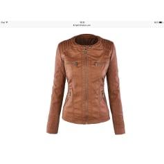 Veste en cuir Boutique Indépendante  pas cher