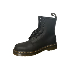 Bottines & low boots plates Dr. Martens  pas cher