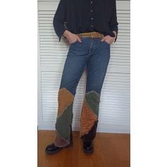 Pantalon évasé Vintage  pas cher