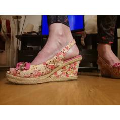 Sandales compensées boutique indépendante  pas cher