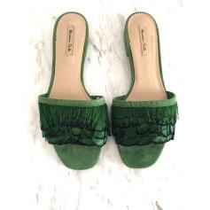 Sandales plates  Massimo Dutti  pas cher