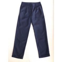 Pantalon droit Karl Marc John  pas cher