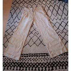 Pantalon évasé Cache Cache  pas cher
