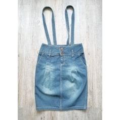 Jupe en jean Vintage  pas cher