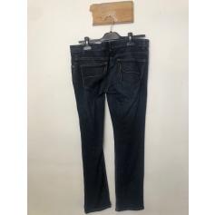 Jeans slim La Halle Aux Vêtements  pas cher