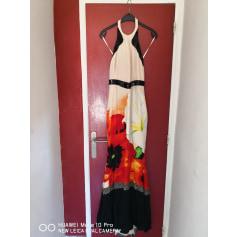 Robe longue Roberto Cavalli  pas cher