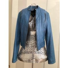 Leather Zipped Jacket Chipie